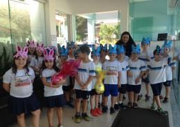 Educação Infantil - Partilha do ovo de Páscoa